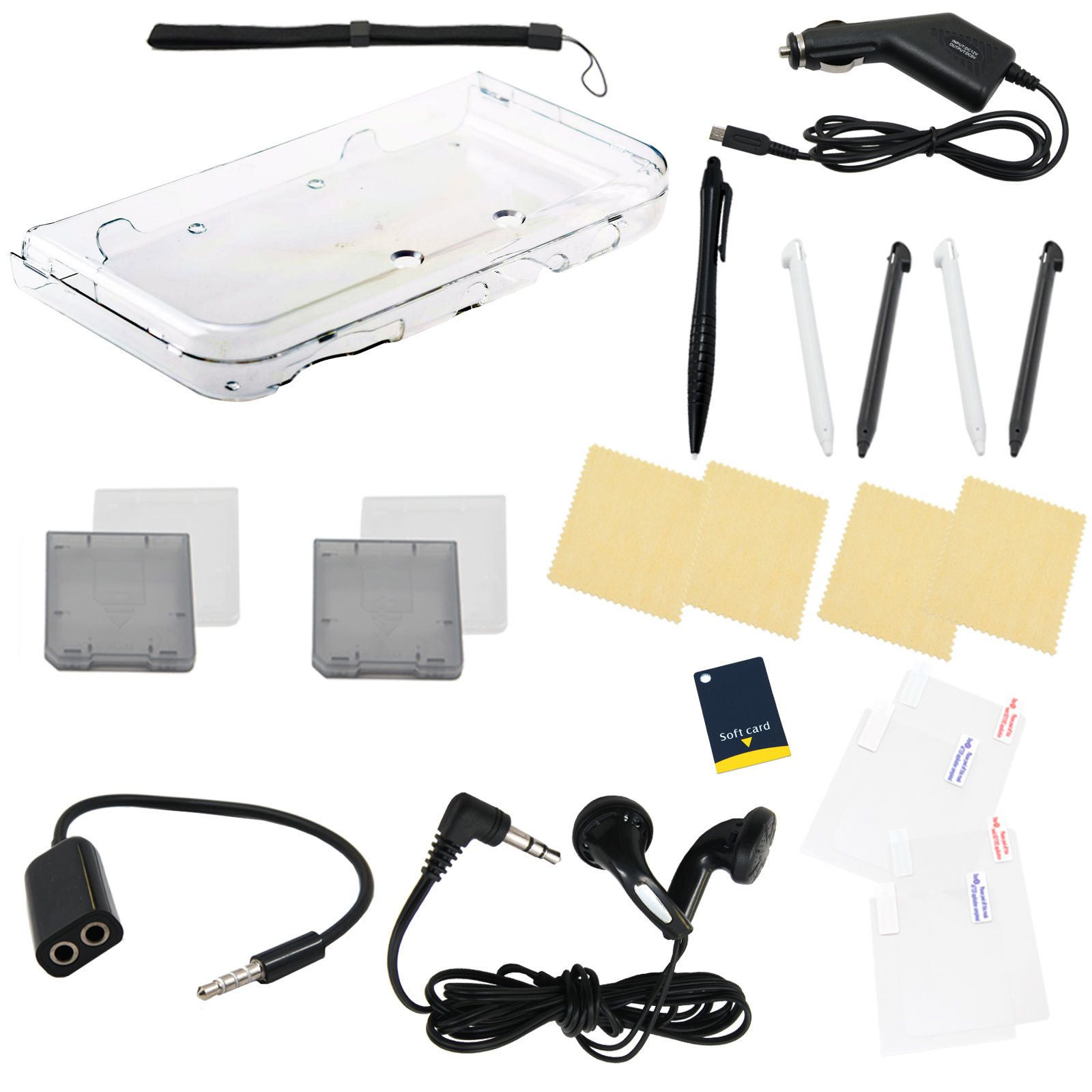 24 in 1 Accessory Kit for New Nintendo 3DS XL