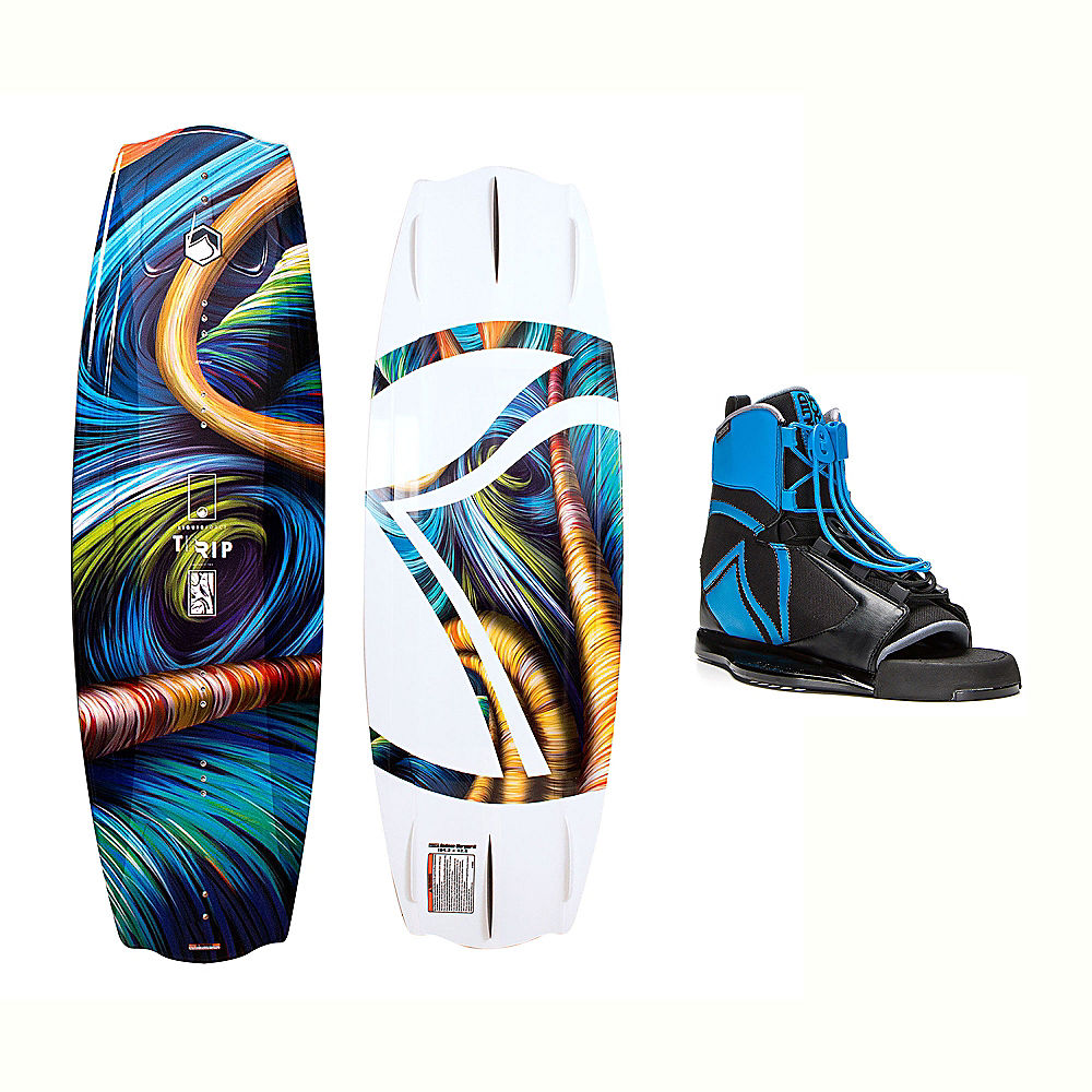 Liquid Force Trip Package Wakeboard With Index Bindings 2017 by Liquid Force