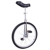 "24"" Wheel Unicycle Leakproof Butyl Tire Wheel Cycling Outdoor Sports Fitness Exercise Health"