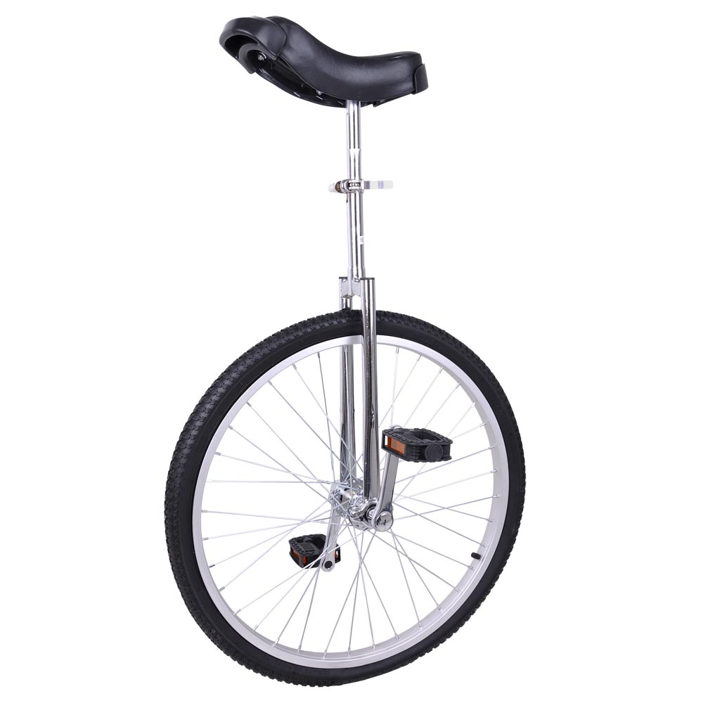 "24"" Inch Wheel Unicycle Leakproof Butyl Tire Wheel Cycling Outdoor Sports Fitness Exercise Health"