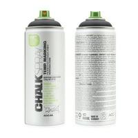 Montana CHALK 400 ml Spray Color, Black