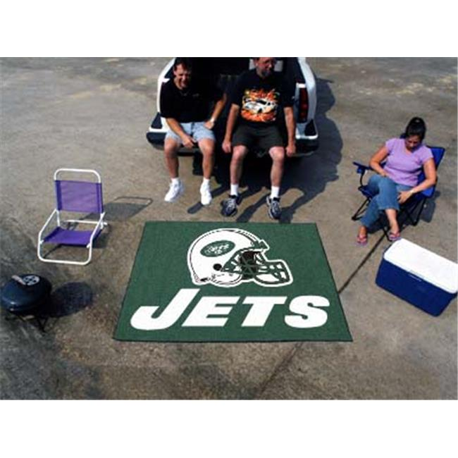 FANMATS 5816 New York Jets Tailgater Rug 60 in.72 in.