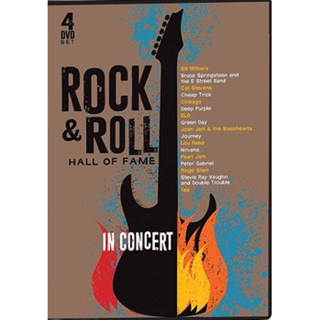 The Rock And Roll Hall Of Fame: In Concert DVD (Alternative Rock Halloween Music)
