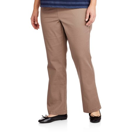 7cee973c098ce Just My Size - Women s Plus-Size 4-Pocket Boot cut Pull-On Pants ...