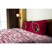 NFL Anthem Bedding SHeet Set, Cardinals by The Northwest Company