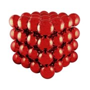 """16"""" Commercial Sized Shiny Red Shatterproof Christmas Ball Ornament Cube"""
