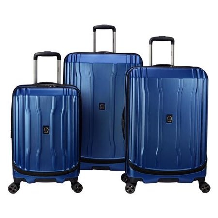 Delsey Paris Cruise Lite Hardside 2.0 Hardside Luggage Set Delsey Luggage Set