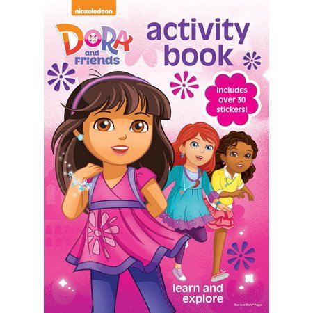 Dora And Friends Coloring Activity Book Each