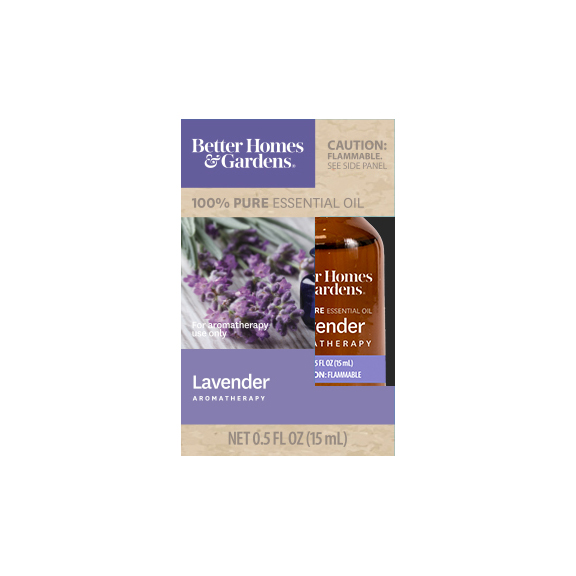 Better Homes & Gardens 15 mL 100% Pure Lavender Essential Oil