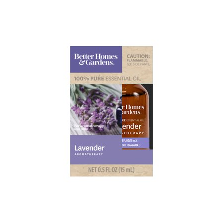 Garden Furniture Oil (Better Homes & Gardens 15 mL 100% Pure Lavender Essential Oil )