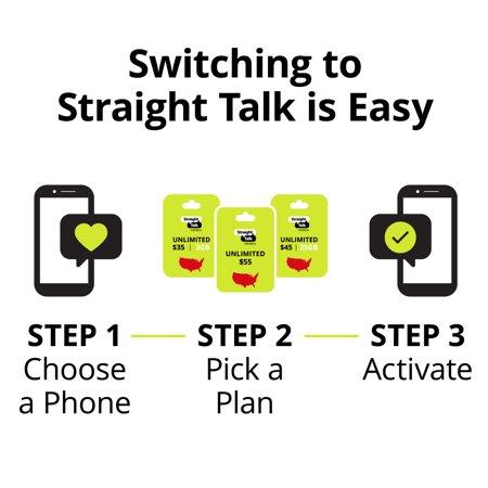 Straight Talk LG Rebel 4 Prepaid Smartphone