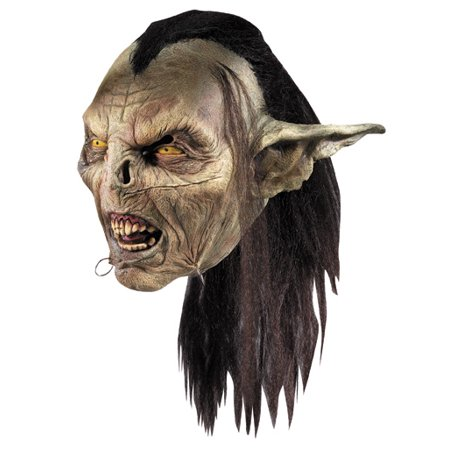 Lord Of The Rings Moria Orc Latex Overhead Mask - Orc Latex Mask