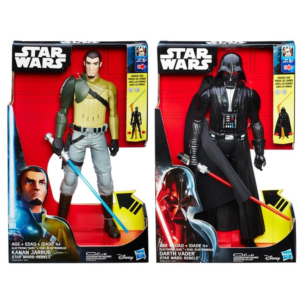 SW:S1 Hero Series Electronic Fig Ast (3) Hasbro HSBB7077 Star Wars S1 Figure44; Assorted... by Hasbro