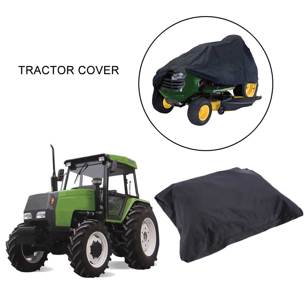 2017 New Lawn Tractor Mower Cover Weather Water Resistant Dustproof Anti-UV Covering Clothing fits up to 55 54 inch Deck by