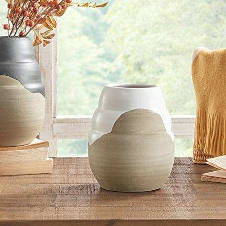 Lima Handmade Terracotta Vase Whitesand Small Walmart