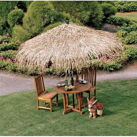 10ft Authentic Palm Thatch Tropical Thatch Umbrella Cover (Umbrella Plastic Cover)