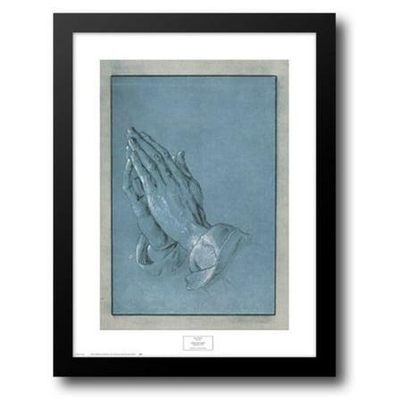 Praying Hands, c.1508 12x16 Framed Art Print by Durer, - Hand Print Art