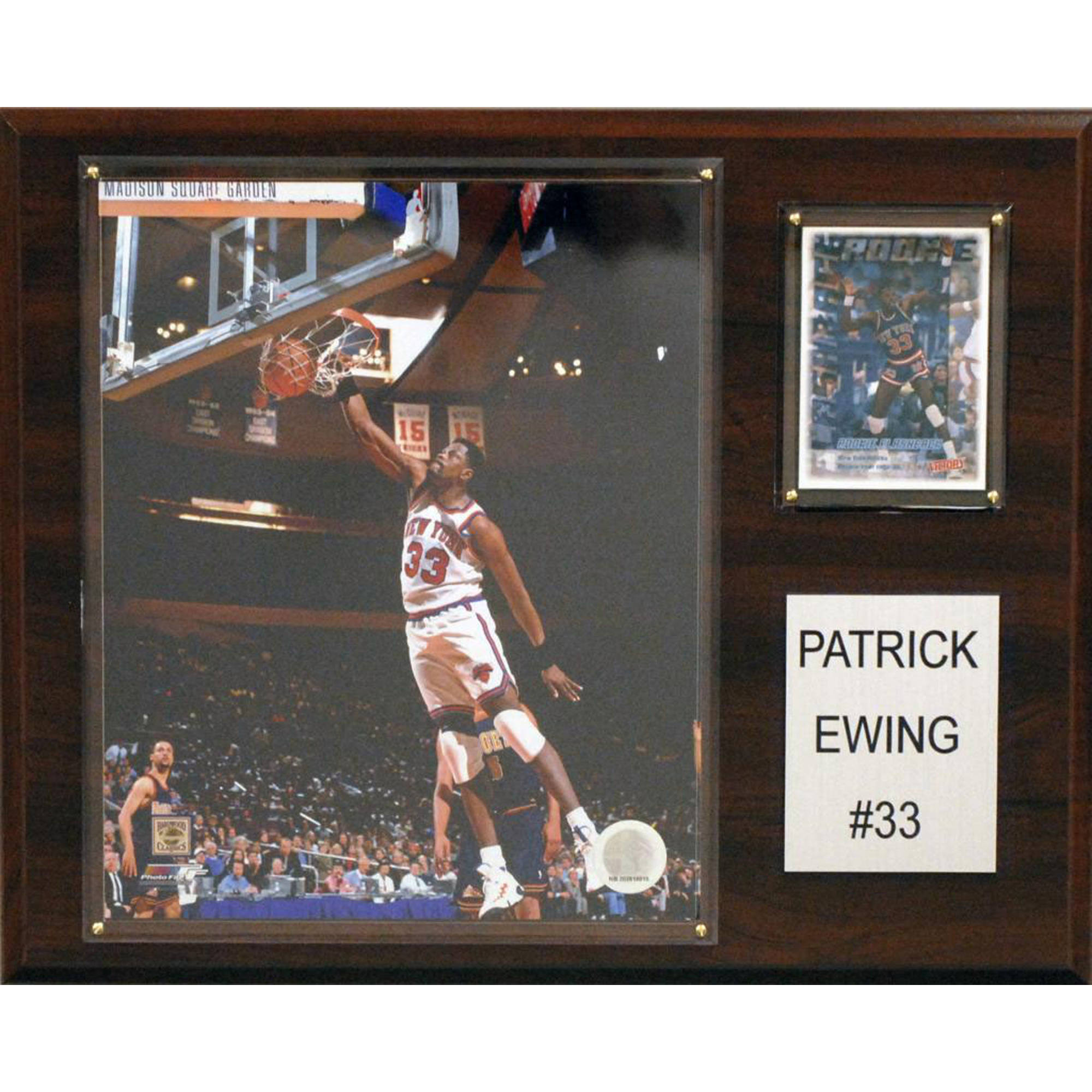 C&I Collectables NBA 12x15 Patrick Ewing New York Knicks Player Plaque