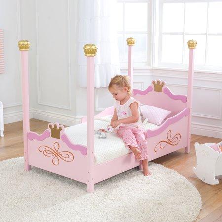 KidKraft Princess Toddler Bed, Pink