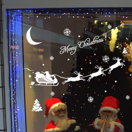 Christmas Decoration Decal Window Stickers Home - Snowflake Window Decals