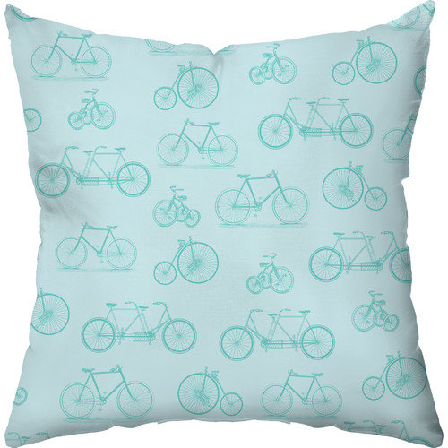 Checkerboard, Ltd Bicycle Dream Throw Pillow