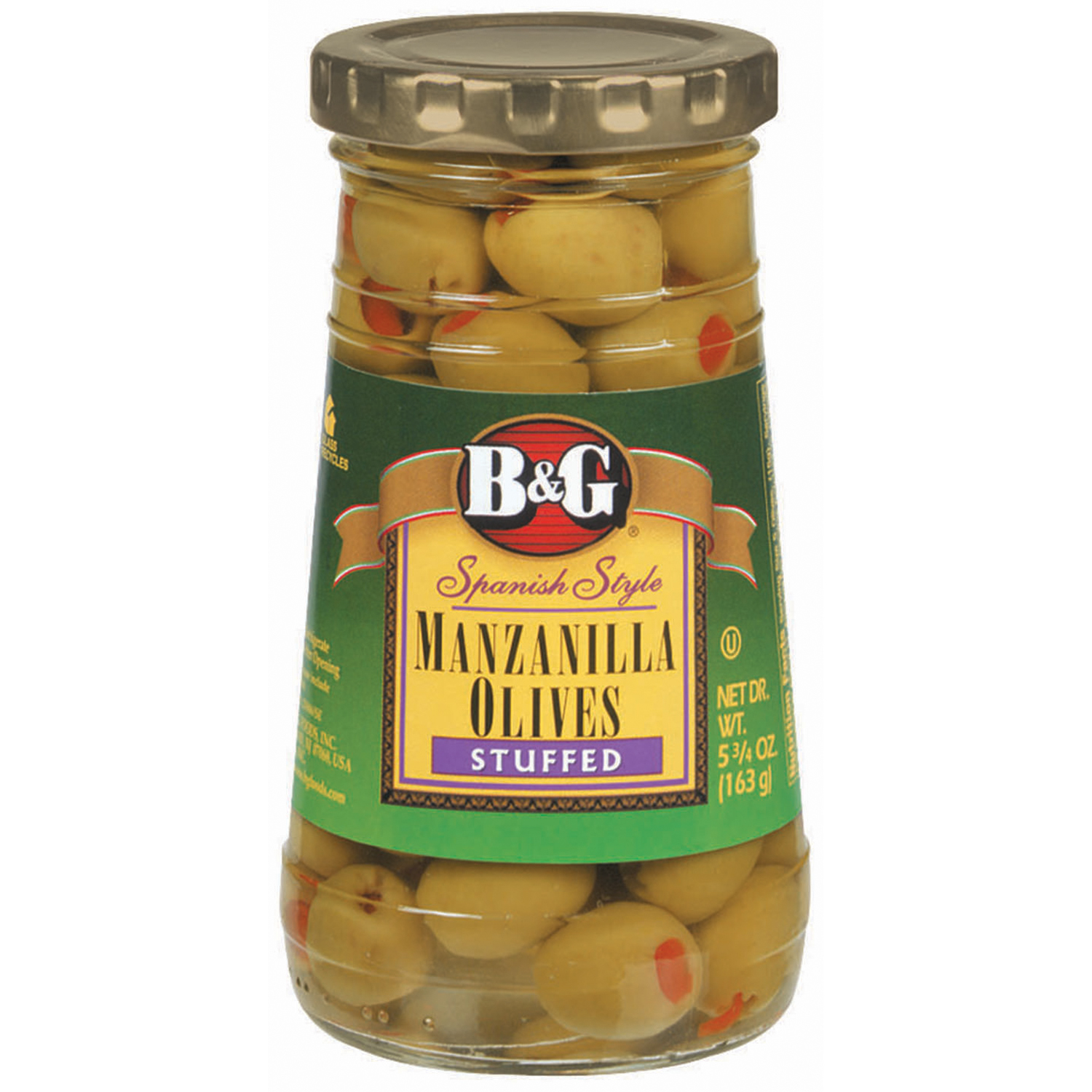 B&G Stuffed Manzanilla Olives, 5.75 Oz by B&G
