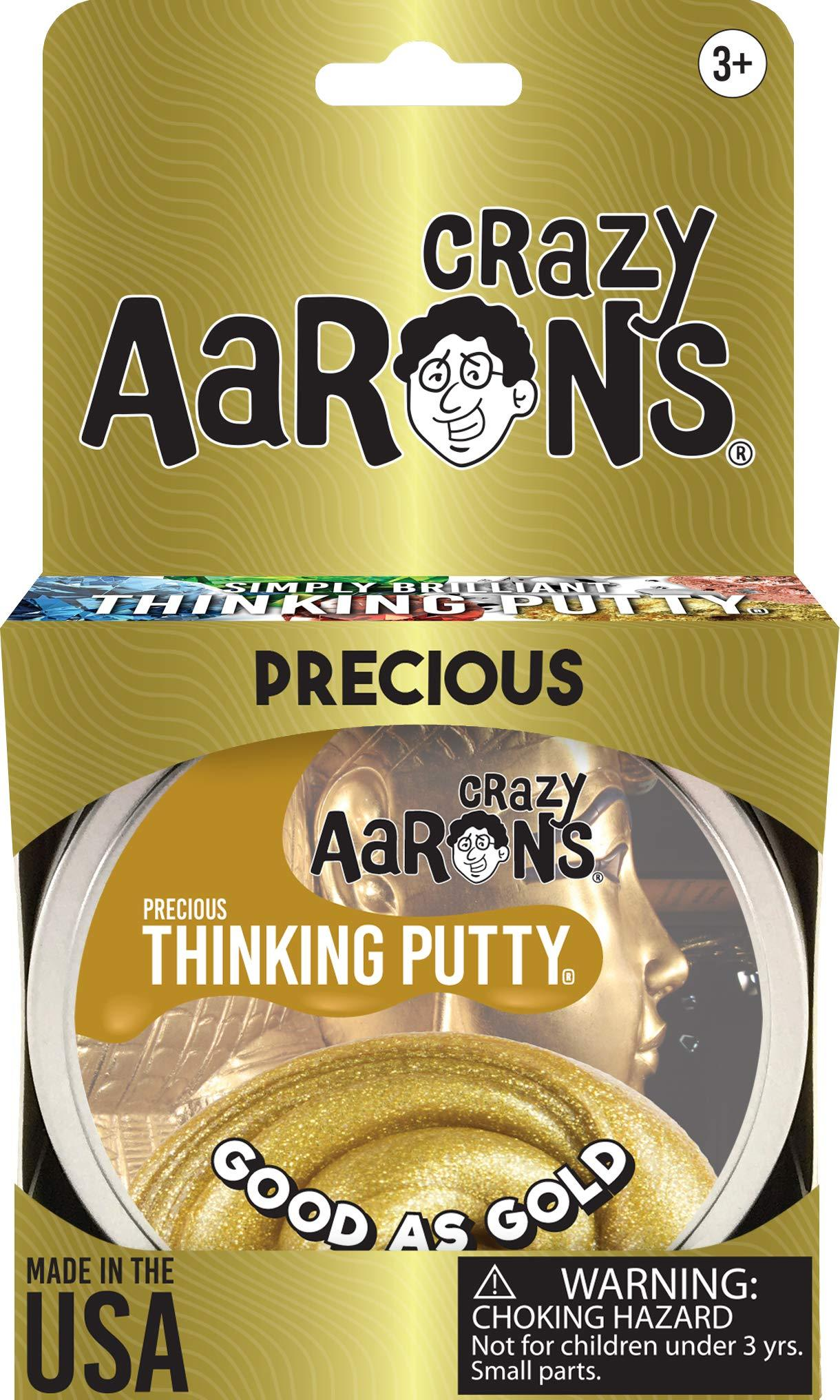 Precious Metals Good As Gold 1.6 Ounce Crazy Aaron/'s Thinking Putty
