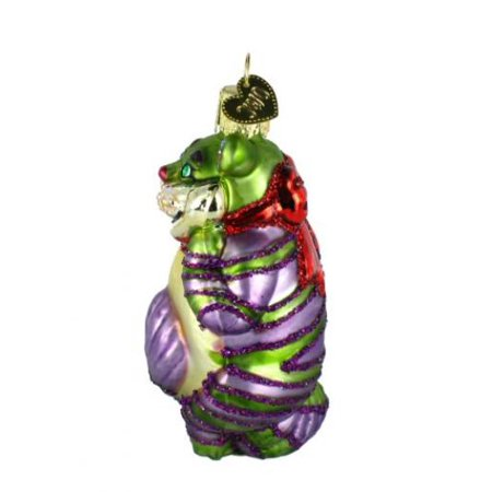 Cheshire Cat Ornament (Old World Christmas Cheshire Cat Glass Blown Ornament )
