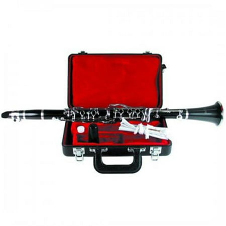Mirage HU2002 Bb Clarinet with Case, Ebonite (Best Silver Clarinet With Cases)