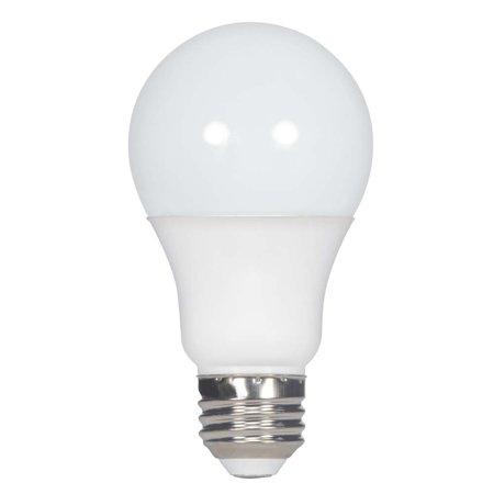 Satco 10w A19 LED Frosted 5000K Medium base 120 volts 10w Led Medium Base