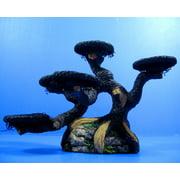 UP AQUA Imitation pine resin Aquarium OrnamentDecor - Drift Wood plants moss stone tree