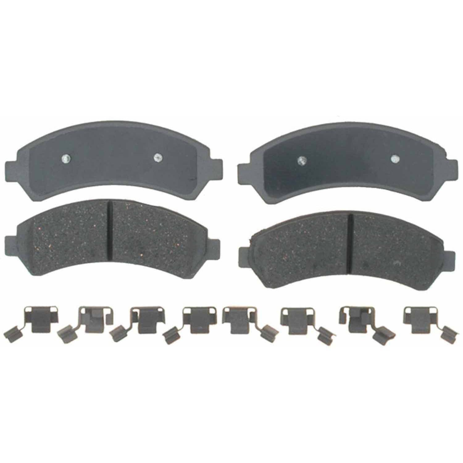 ACDelco 17D1258CH Professional Durastop Ceramic Front Disc Brake Pad Set