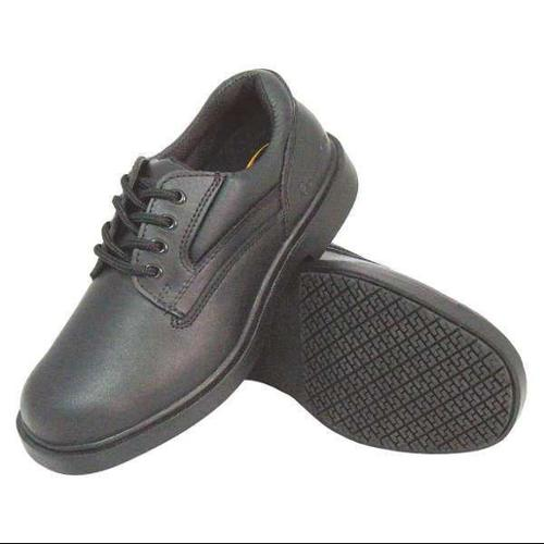 GENUINE GRIP 7100-14W Oxford Shoes, Black, Mens, 14, W, PR