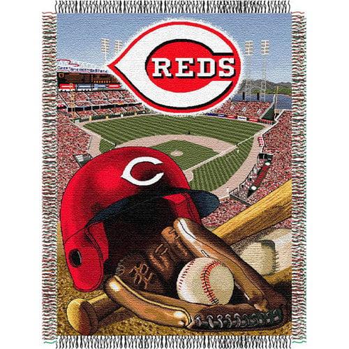 MLB - Cincinnati Reds 48x60 Home Field Advantage Tapestry Throw