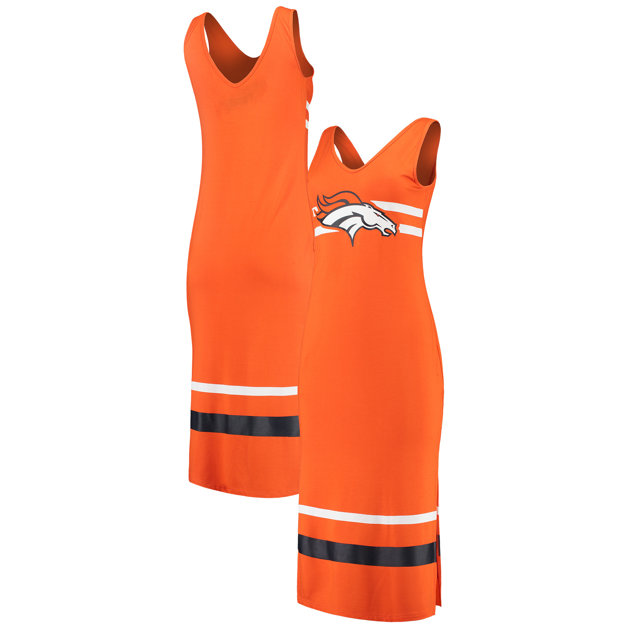 Denver Broncos G-III 4Her by Carl Banks Women's Maxi Dress - Orange