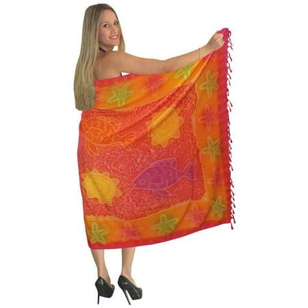 0b3c8db7cc LA LEELA - La Leela hawaiian cotton front tie for women for Beach ...