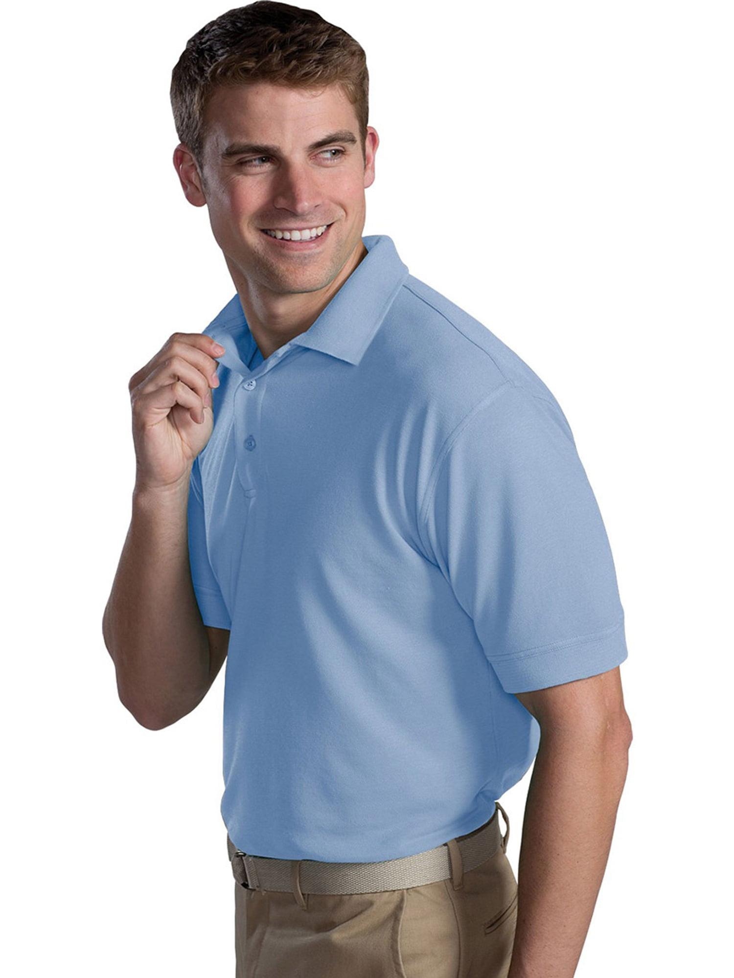 Ed Garments Ed Garments Mens Big And Tall Soft Pique Polo Shirt
