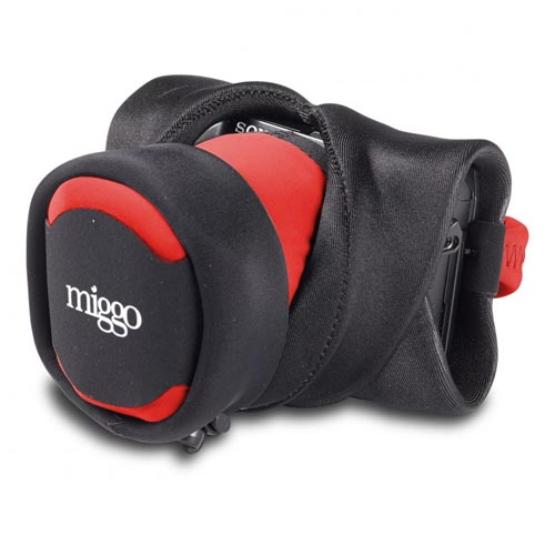 Miggo Grip and Wrap for Mirrorless Camera - Red Black