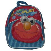 Elmo Mini Backpack Play With Me Preschool Back Pack