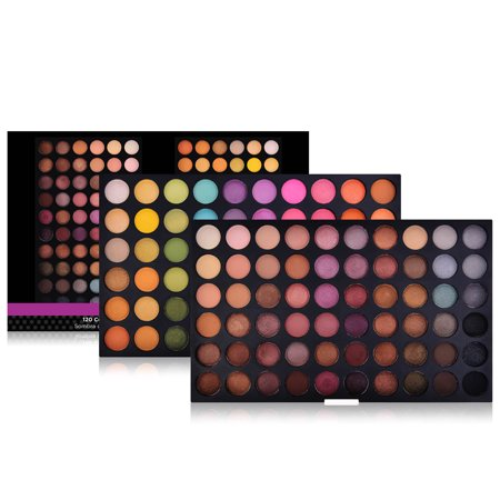 Glittering Eye Color (SHANY Ultimate Fusion - 120 Color Eye shadow Palette Natural Nude and Neon)