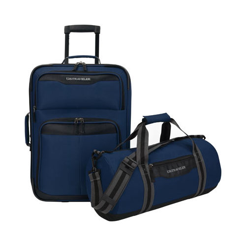 US Traveler Hillstar 2-Piece Casual Luggage Set