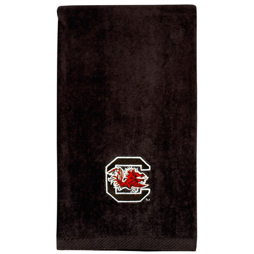 NCAA - South Carolina Gamecocks Embroidered Black Sports Towel