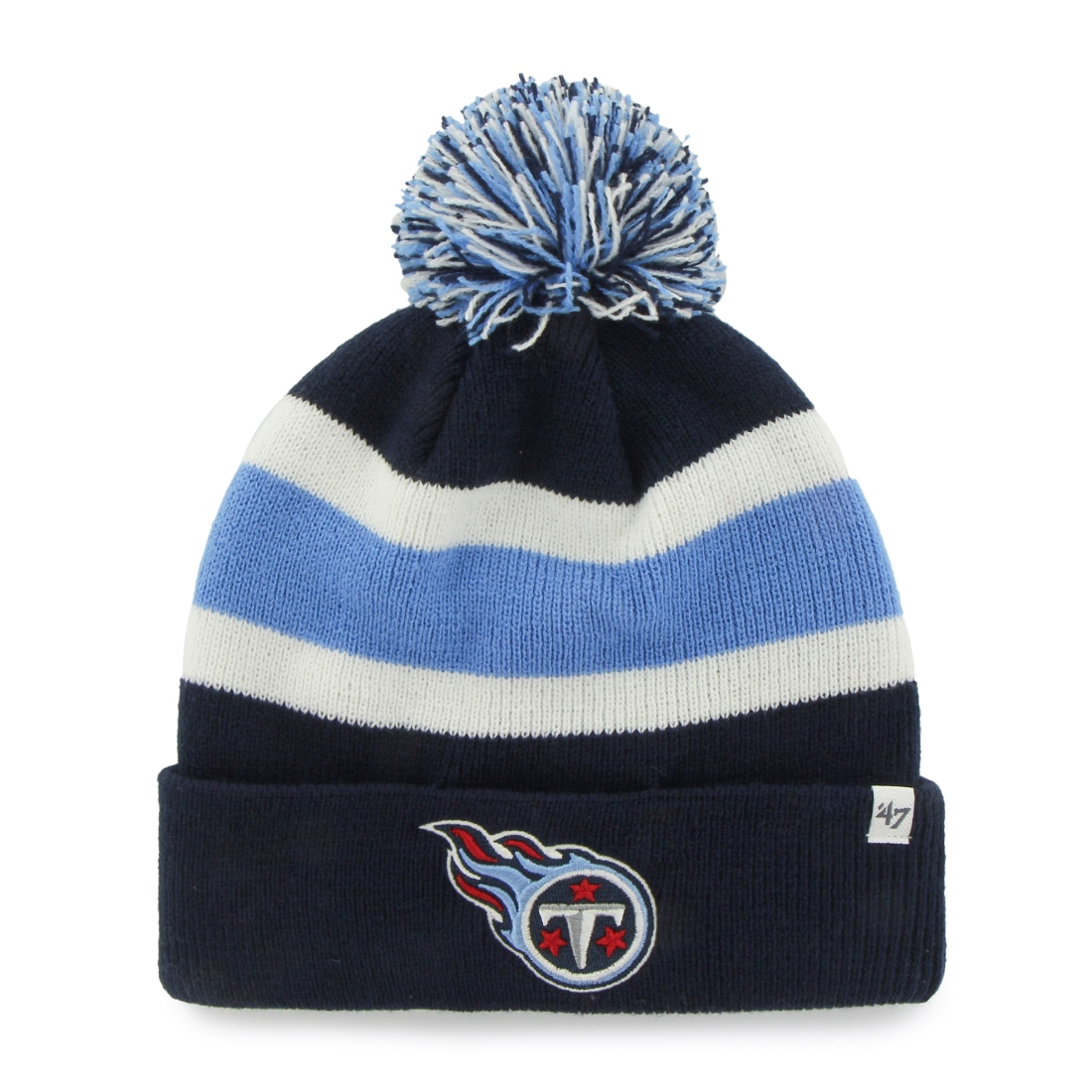 """Tennessee Titans 47 Brand NFL """"Breakaway"""" Cuffed Knit Hat Navy by 47 Brand"""