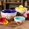 The Pioneer Woman Celia Sentiment Serving Bowl Set, 3 Piece