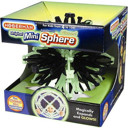 Hoberman Mini Sphere Firefly Glow - Fireflies Toy