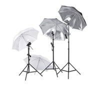 Square Perfect Professional Quality Photography Studio Lighting Umbrella Soft Light Kit