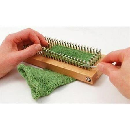 Kb Sock Loom Adjustable Wood Knitting Board Kit W Dvd Boards Looms