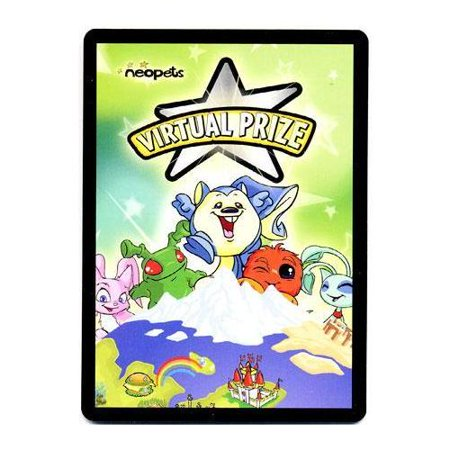 Neopets Virtual Prize Code Card