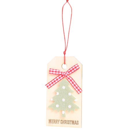Merry Christmas Pendant Ornaments Diy Wood Crafts Gifts Xmas Tree