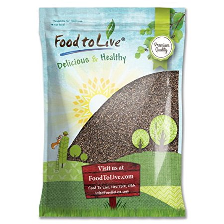 Food To Live ® Chia Seeds (25 Pounds)